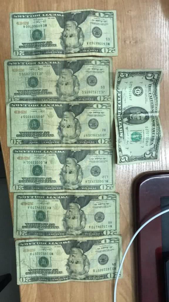 Наличка в долларах, не меняемая