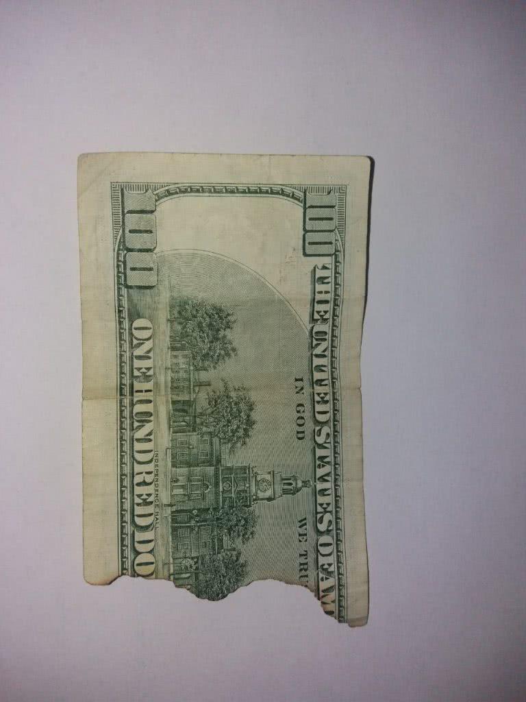 100уе без куска, пример для обмена валюты