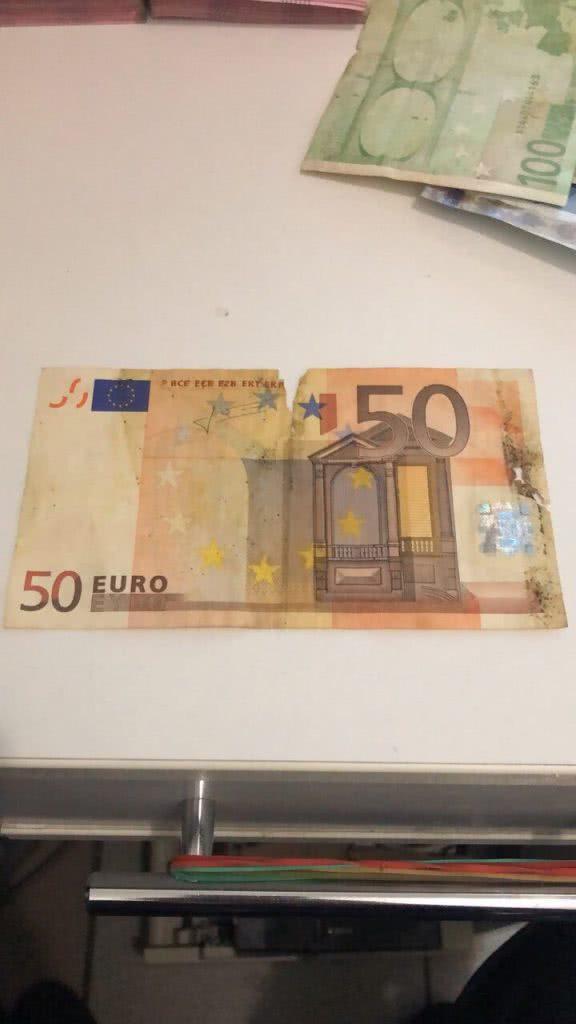 порванные эвро