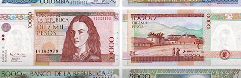 1 колумбийский песо