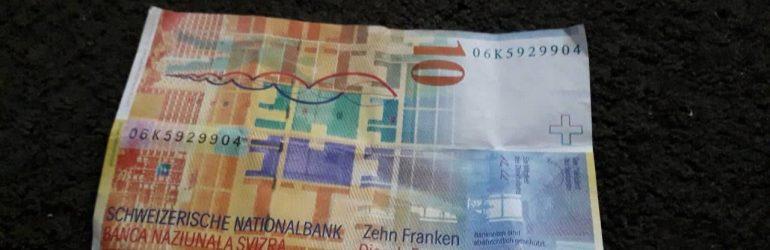 Покупка швейцарских франков