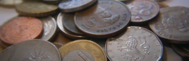 Обмен иностранными монетами