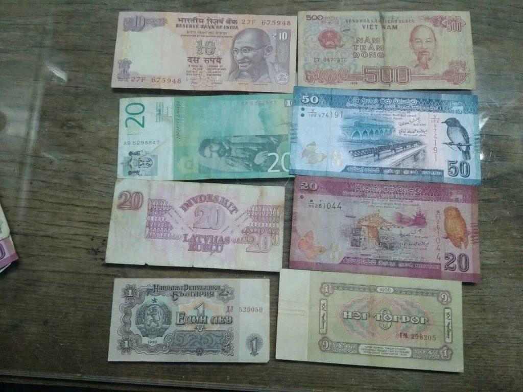 Валюта мира обмен
